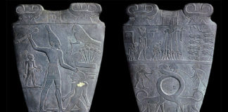 Narmer Palette - Front and Back