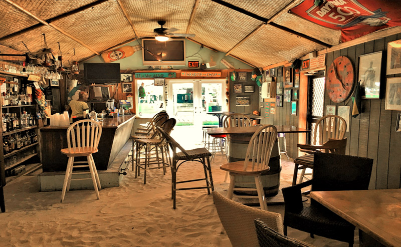 The Sand Bar, Churchill Beach, Grand Bahama Island