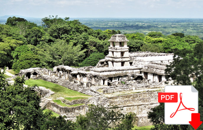 Part 1 of George Fery's 7-part series on Palenque. The Ancient City